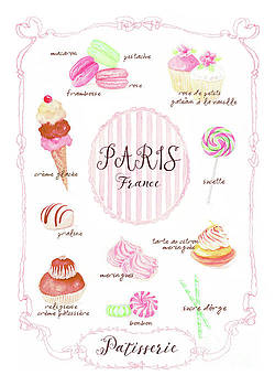 Paris Patisserie by Wendy Paula Patterson