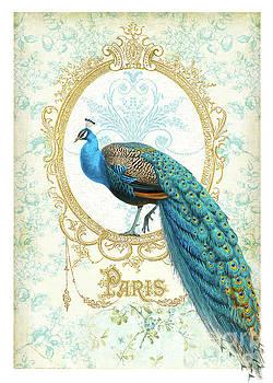 Paris Peacock  by Wendy Paula Patterson