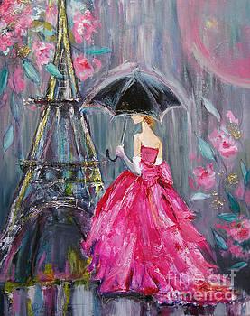 Paris Rain by Jennifer Beaudet