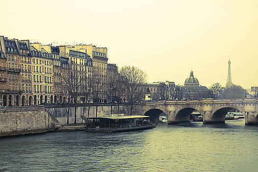 Paris River View by Andrew Soundarajan