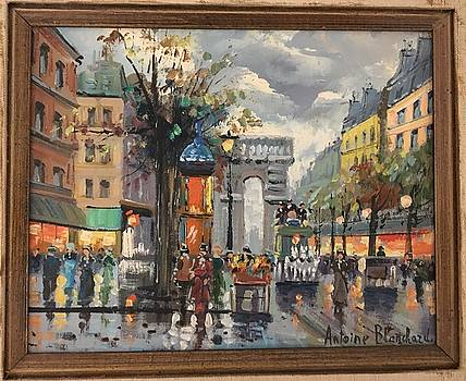 Paris Street by Antoine Blanchard