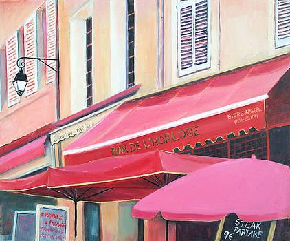 Jan Matson - Paris Street Scene - Bar De L