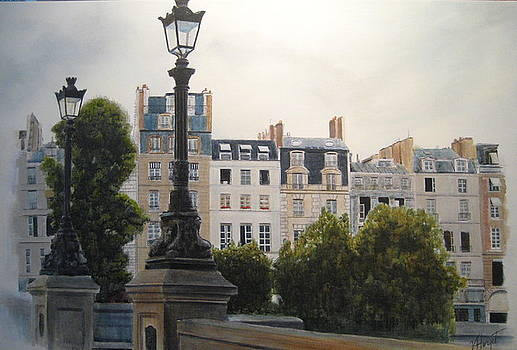 Paris Stroll by Victoria Heryet