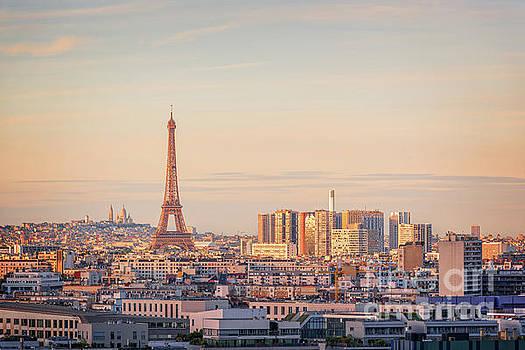 Delphimages Photo Creations - Paris sunset