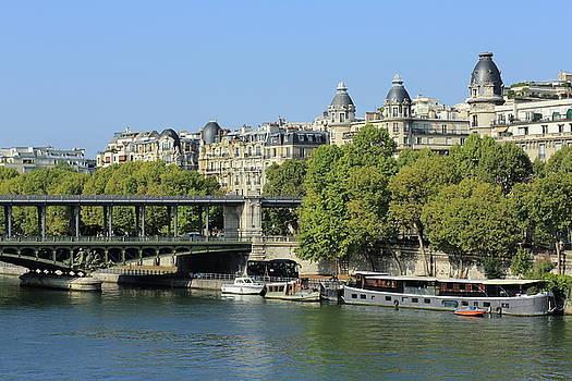 Paris, the Seine River by Virginie Blanquart