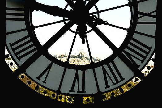 Paris Through the Clock by Charles  Ridgway