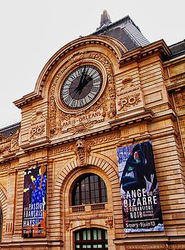Paris Train Station by Catherine Alfidi