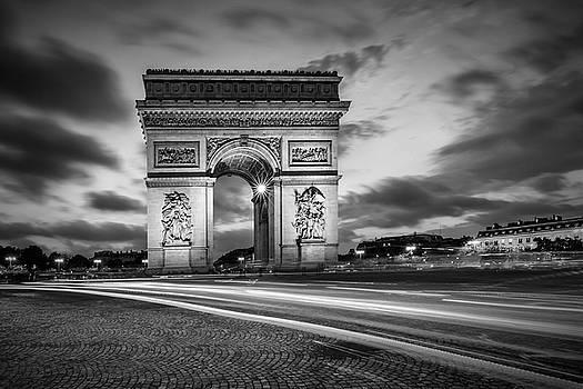 Melanie Viola - PARIS Triumphbogen - monochrome