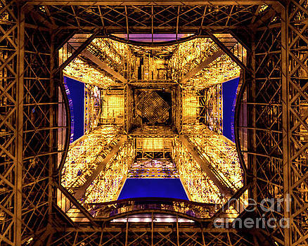 Paris under the tower by Perry Webster
