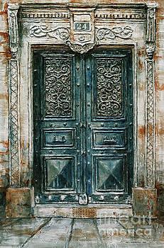 Parisian Door No. 24 by Joey Agbayani