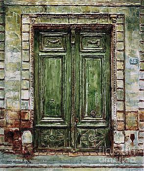 Parisian Door No. 32 by Joey Agbayani