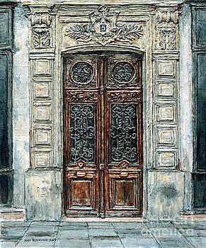Parisian Door No. 5-3 by Joey Agbayani