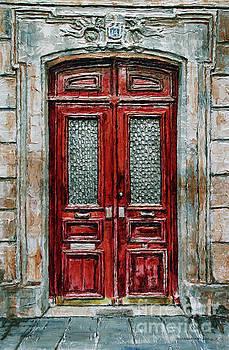Parisian Door No.14 by Joey Agbayani