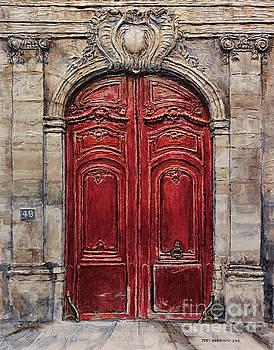 Parisian Door No.49 by Joey Agbayani