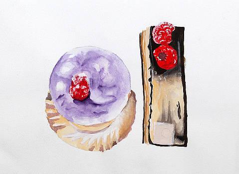 Parisian Pastries by Michelle Fattibene