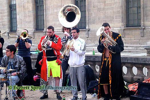 Parisian Performers by Everett Spruill