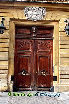 Parisian Portal #4 by Everett Spruill