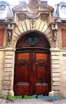 Parisian Portal #5 by Everett Spruill