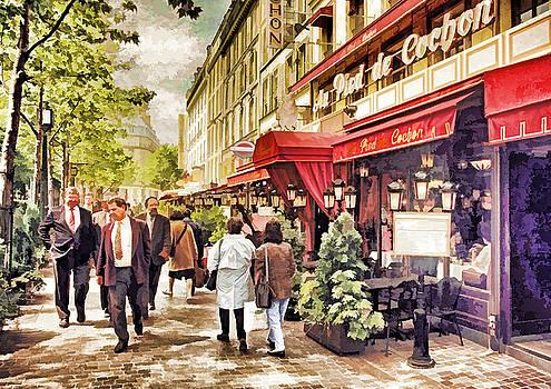 Dennis Cox WorldViews - Parisian Restaurant