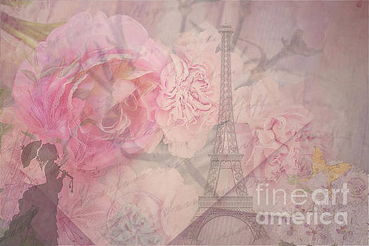 Parisian Romantic Collage by Leah McPhail