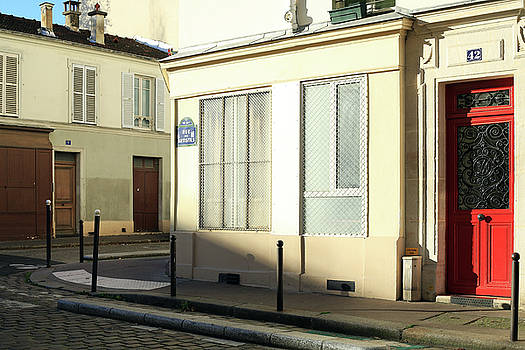 Parisian street in the morning light by Virginie Blanquart