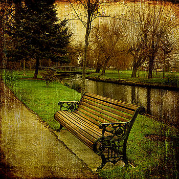 Park Bench by Martin Fry