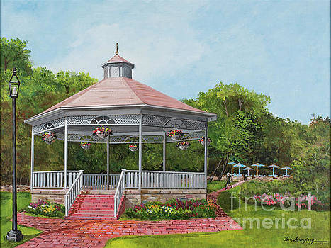 Park Gazebo by Timothy Spongberg
