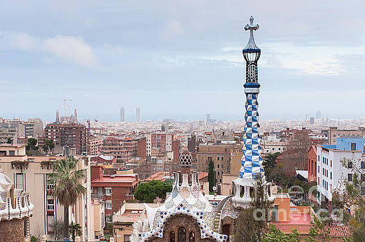 Park Guell in Barcelona Spain by Iryna Soltyska