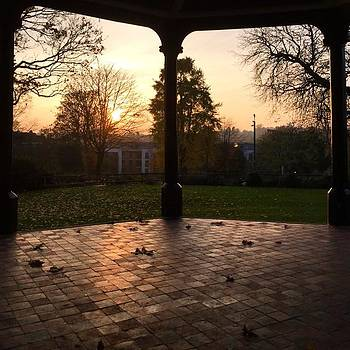 Maidstone Bandstand at Sundown by Natalie Anne