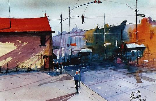 Park St Alameda by George Powell