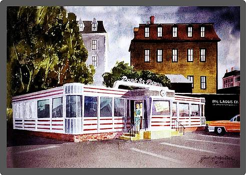 #Park Street Diner by Harding Bush