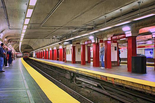 Park Street - Red Line - Boston by Nikolyn McDonald