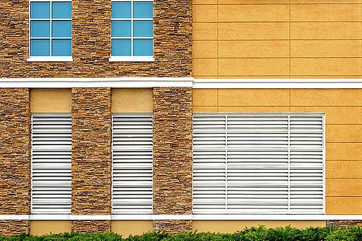 Parking Garage Vent Wall Detail by Frank J Benz