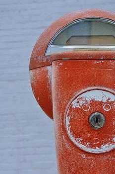 Parking Meter in Red 1 by Jan Scholke
