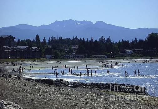 Parksville Beach, British Columbia, Canada by Heather McFarlane-Watson
