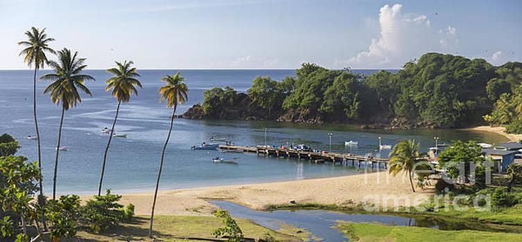 Parlatuvier Jetty, Tobago by Hugh Stickney