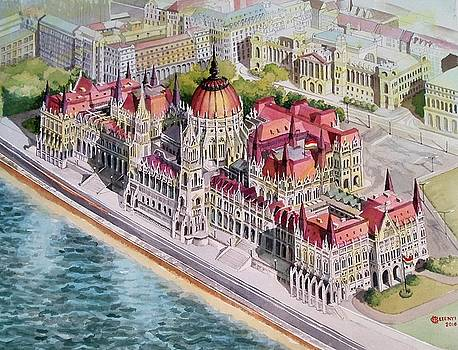 Parliment of Hungary by Charles Hetenyi