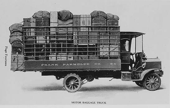Chicago and North Western Historical Society - Parmelee Baggage Transfer Truck