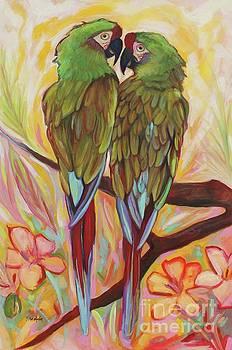 Parrot Tango by Eve  Wheeler