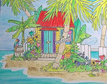 Parrotdise Cottage by Coni Brown