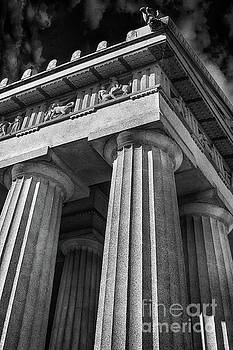 Parthenon In Black and White by Tom Gari Gallery-Three-Photography