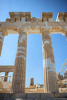 Eduardo Huelin - Parthenon on the Acropolis in Athens Greece