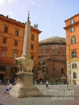 Sarah Kirk - Parthenon, Rome, Italy