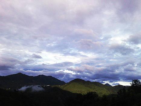 Partial Clouds by Ankeeta Bansal