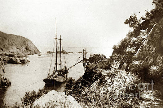 California Views Mr Pat Hathaway Archives - Partington Cove on the Big Sur coast circa 1903