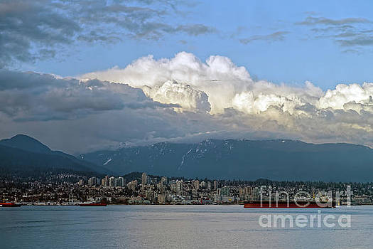 Partly Cloudy In North Vancouver  by Natural Focal Point Photography