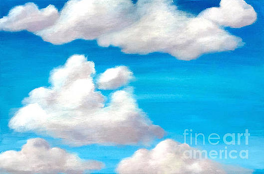 Partly Cloudy Sky by Ashley Baldwin
