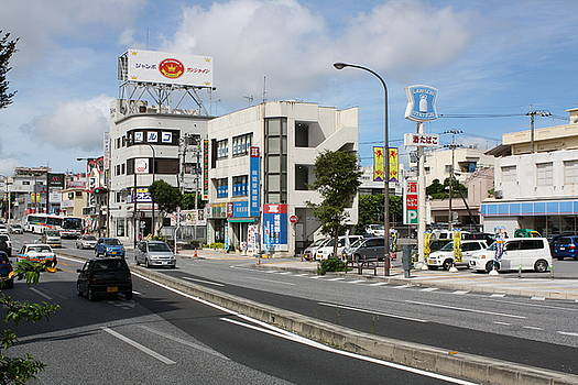 Parts of the city Okinawa Japan by Rodney Dickey