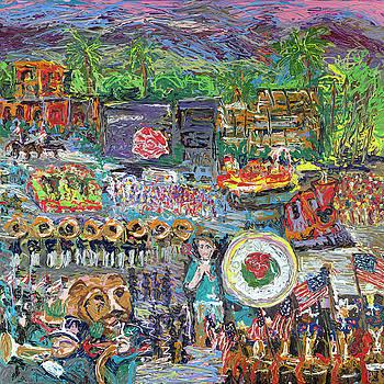 Pasadena Rose Parade by Ron Hust and Ron Libbrecht