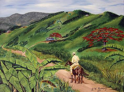 Paseo Por El Campo by Luis F Rodriguez